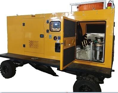 拖挂式便携式潜水泵应急排水车