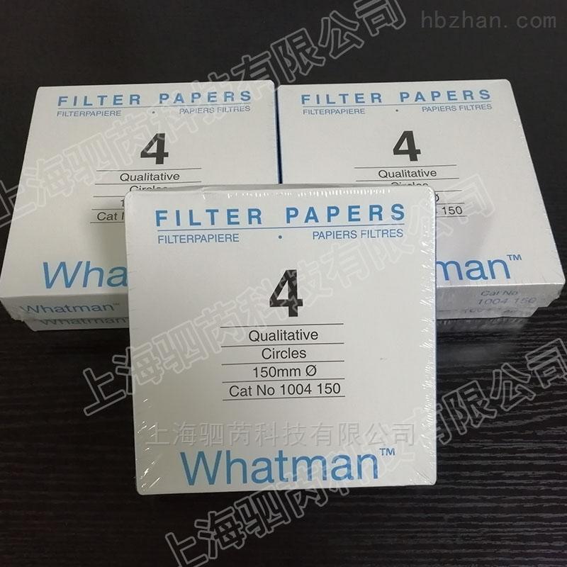 GE沃特曼Grade 4标准级快速定性滤纸
