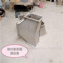共板法兰风管1镀锌铁板通风管道