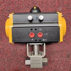 Q611N-320P气动高压螺纹球阀