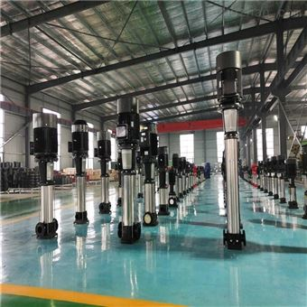 QDLF系列轻型不锈钢多级离心泵