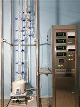 实验室Oldershaw型精馏塔的操作流程