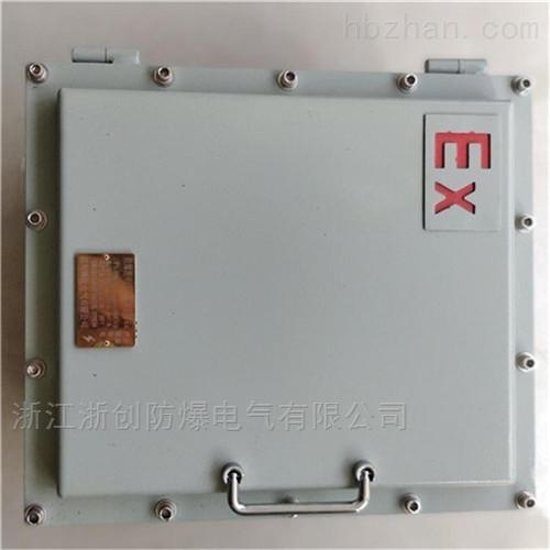 石油采炼钢板焊接防爆接线箱