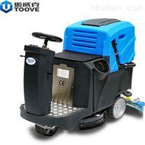 驾驶式单刷电动电瓶式洗地车 无锡普力拓