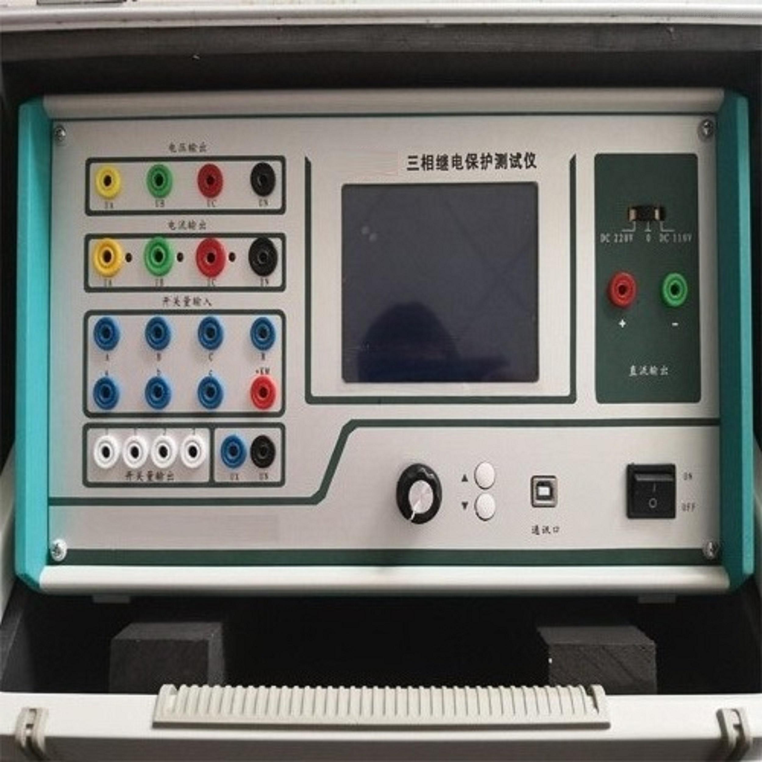 电力承试三四五级资质.三相继电保护测试仪