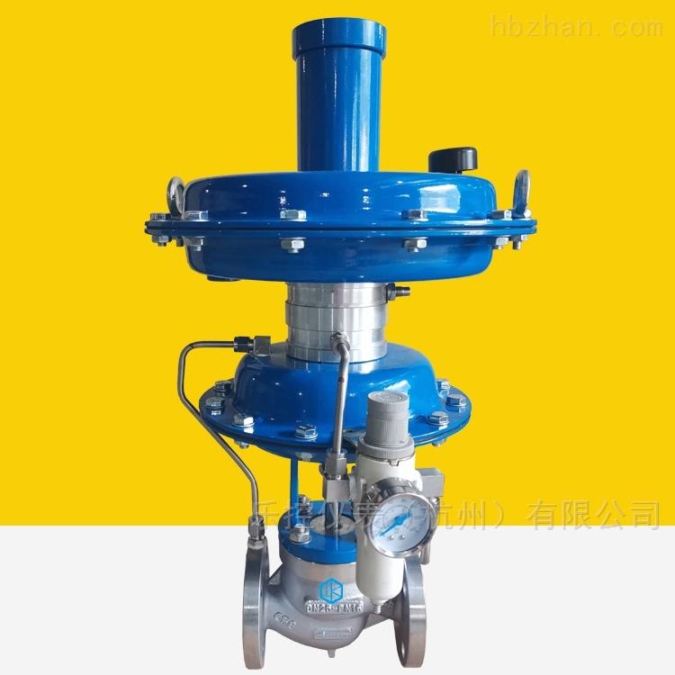 带指挥器型自力式压力氮封阀