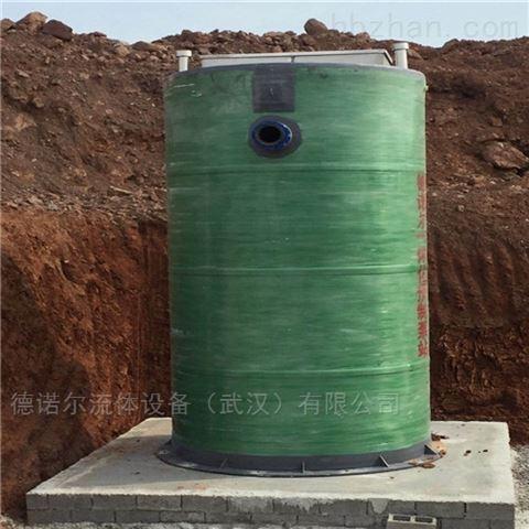 杭州 PE  玻璃钢一体化提升泵站价格
