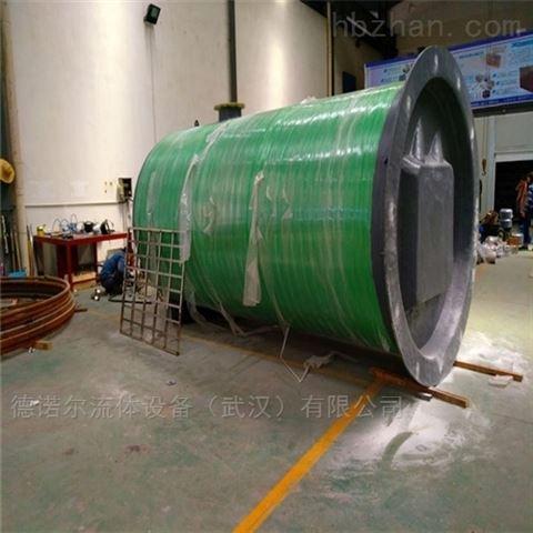 包头 大流量  一体化预制泵站生产厂家