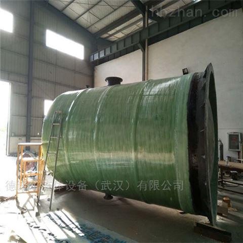 成都 乡镇  预制雨水提升泵站