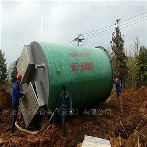 石家庄 大口径  一体化建筑给排水泵站