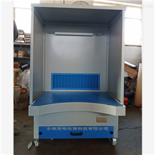 LC-GZT1500脉冲式吸尘打磨工作台