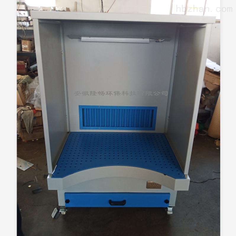 2.2KW高铁配件打磨抛光吸尘台/吸尘工作台