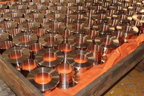 CuNi90-10同心异径接头三通图纸加工澳门