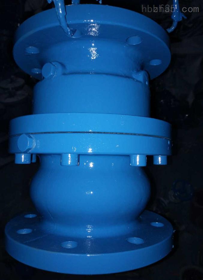 铸钢管道式气动阀