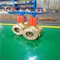 Q347T氧气用固定铜球阀