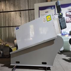 351橡胶手套制品厂叠螺式污泥脱水机 太阳环保