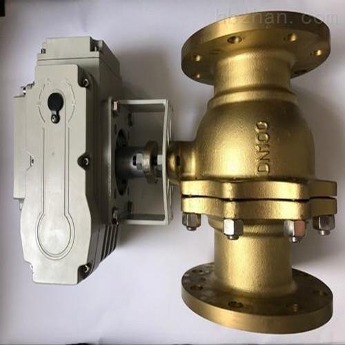 电动氧气铜球阀