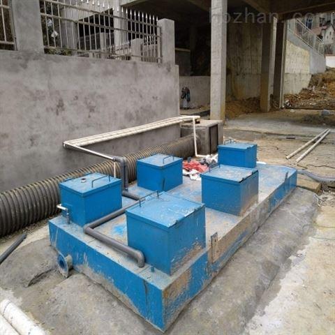 小区居民楼生活污水处理设备工艺设计
