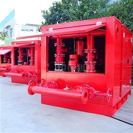 箱体式双动力消防泵
