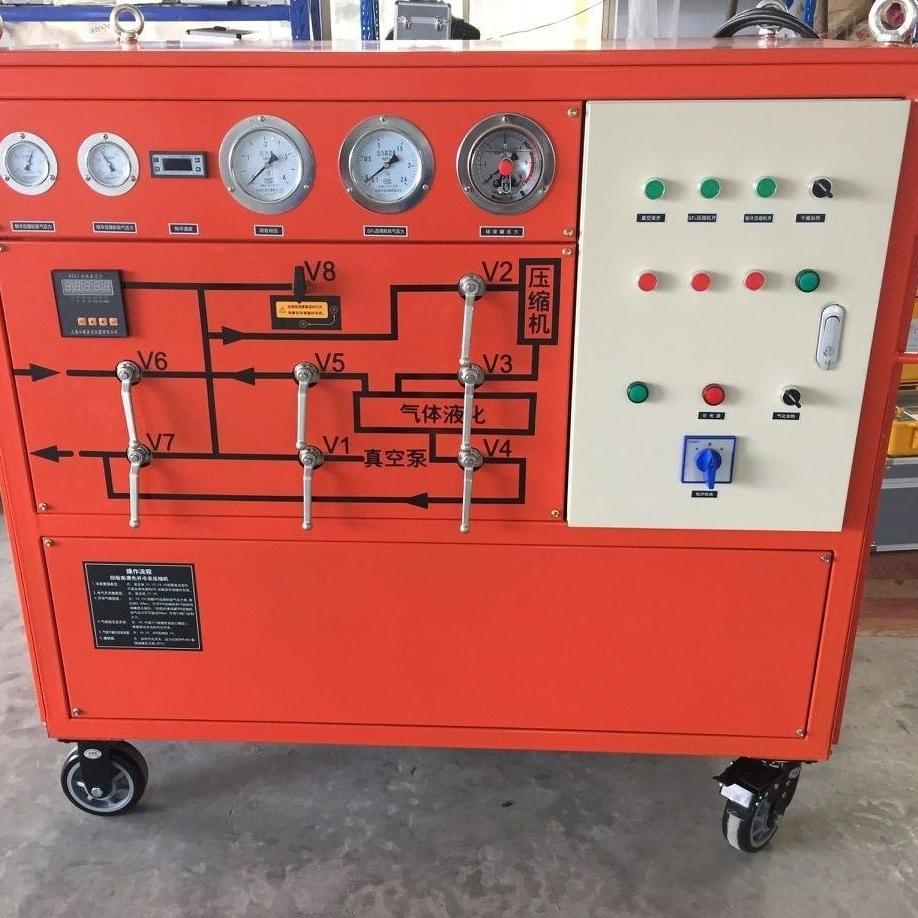 六氟化硫气体回收充放装置现货