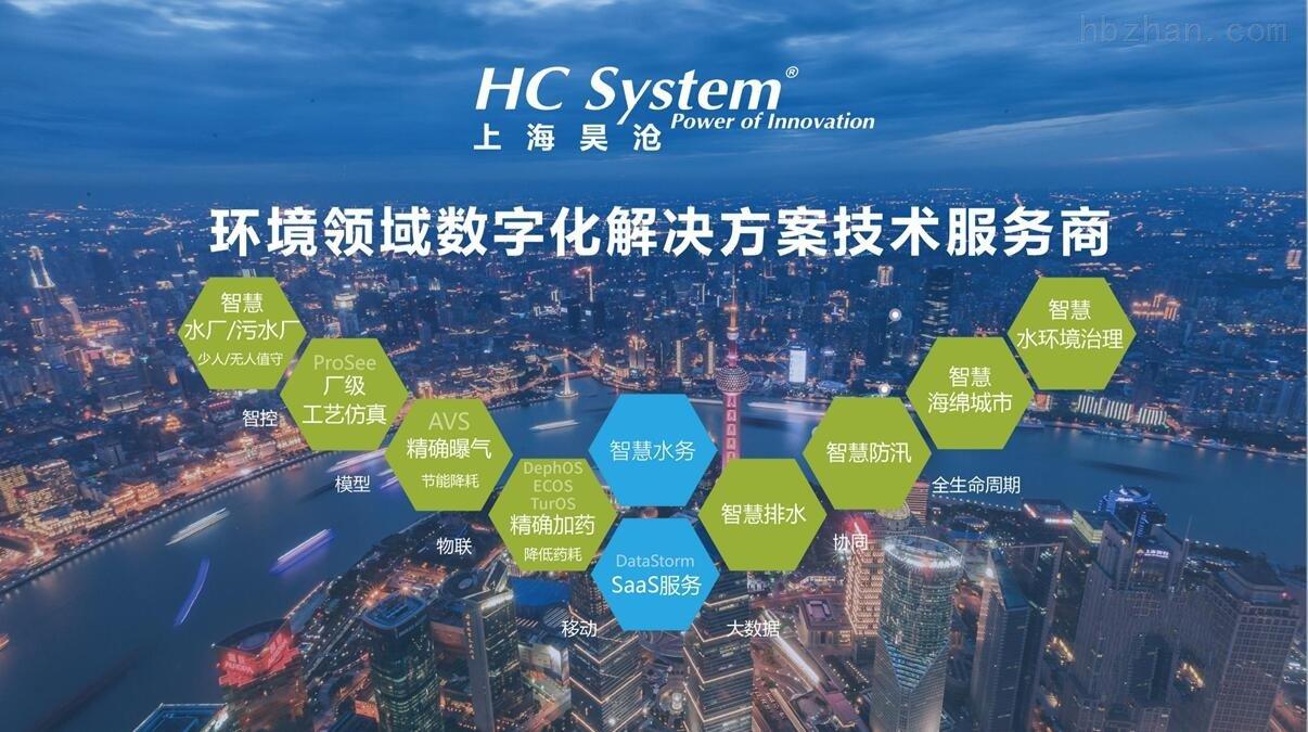 上海昊沧-环保领域数字化解决方案供应商
