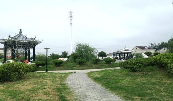 江苏省滨海县八滩镇坚持绿色发展打造生态强镇