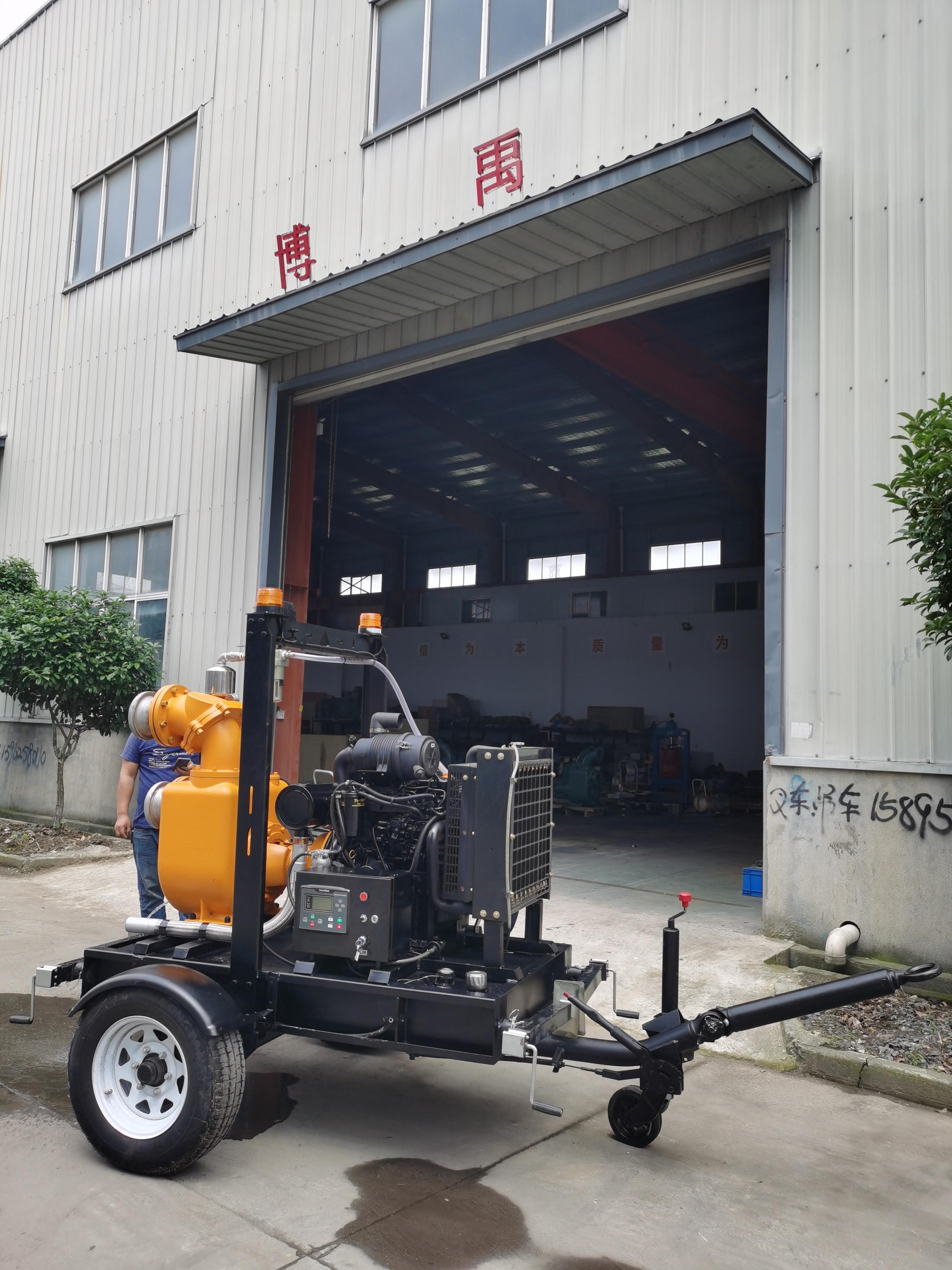 柴油机真空辅助高吸程井点降水泵