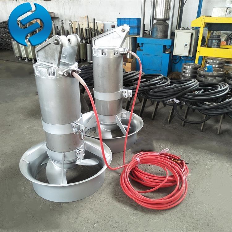 潜水搅拌机在污泥调节池中的作用