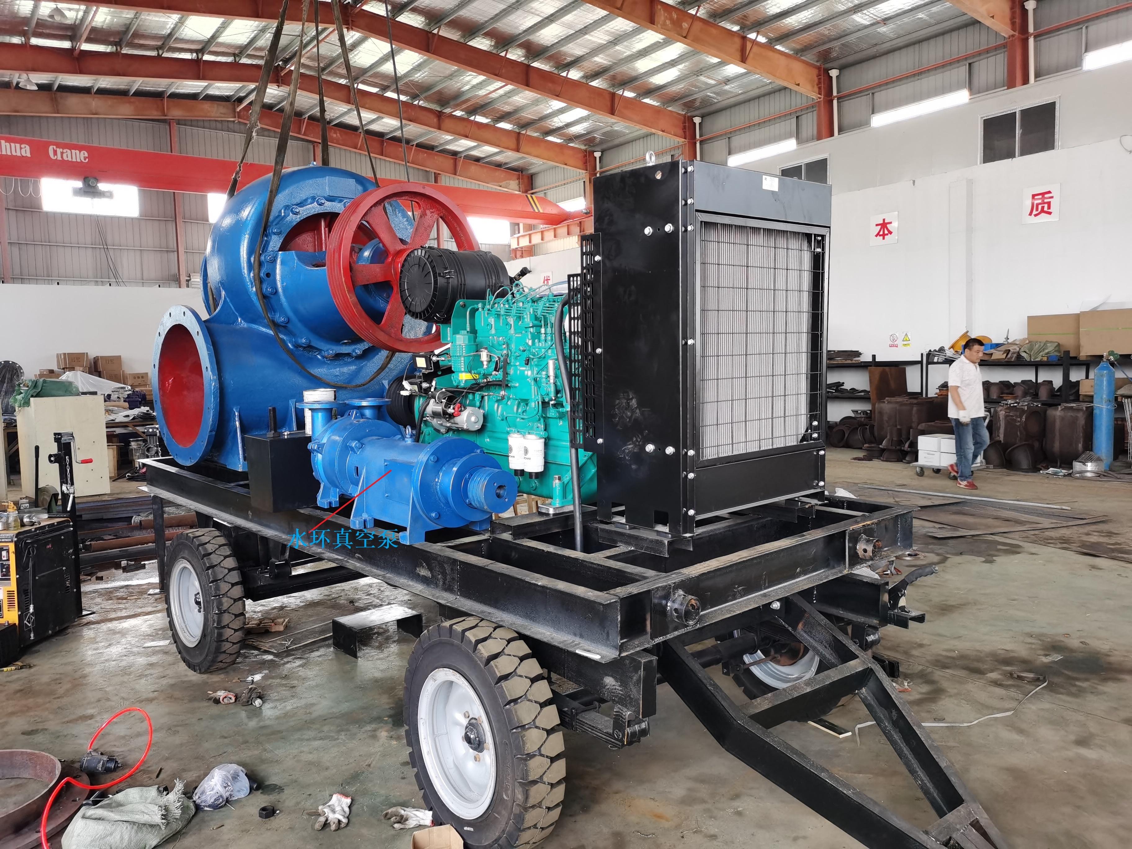 真空辅助混流泵移动泵车