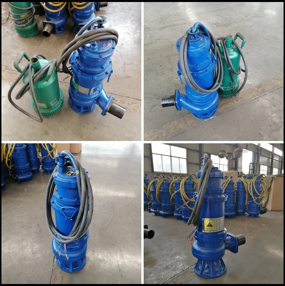 防爆矿用潜水泵实拍