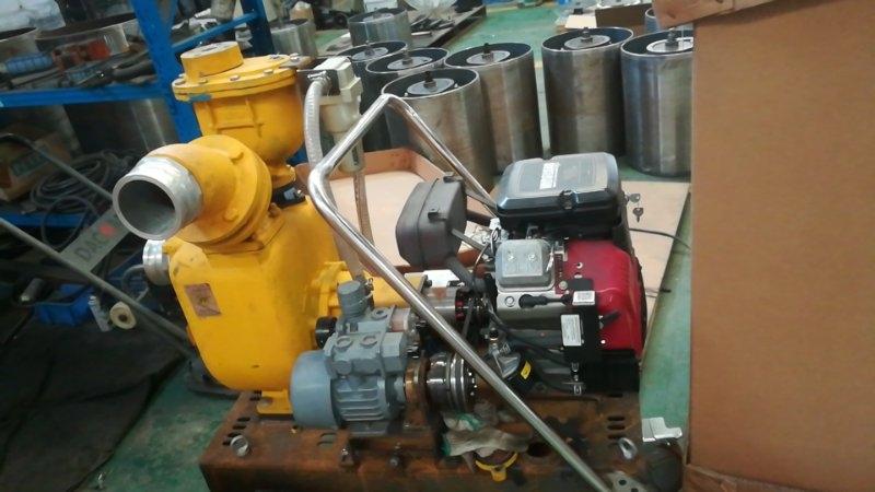 汽油机自吸泥浆泵