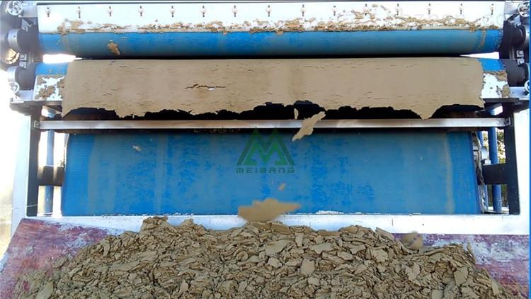江西石料场污泥脱水处理