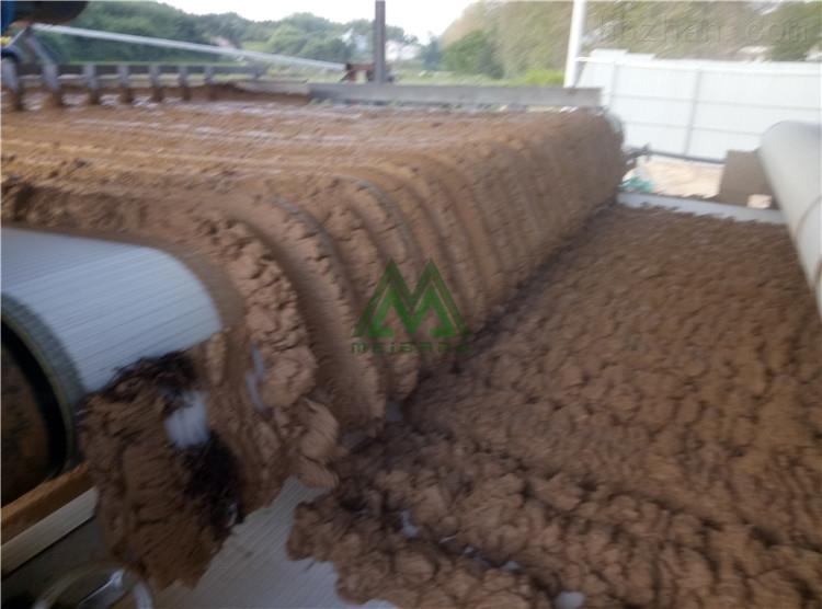 广西洗石粉泥浆干堆设备