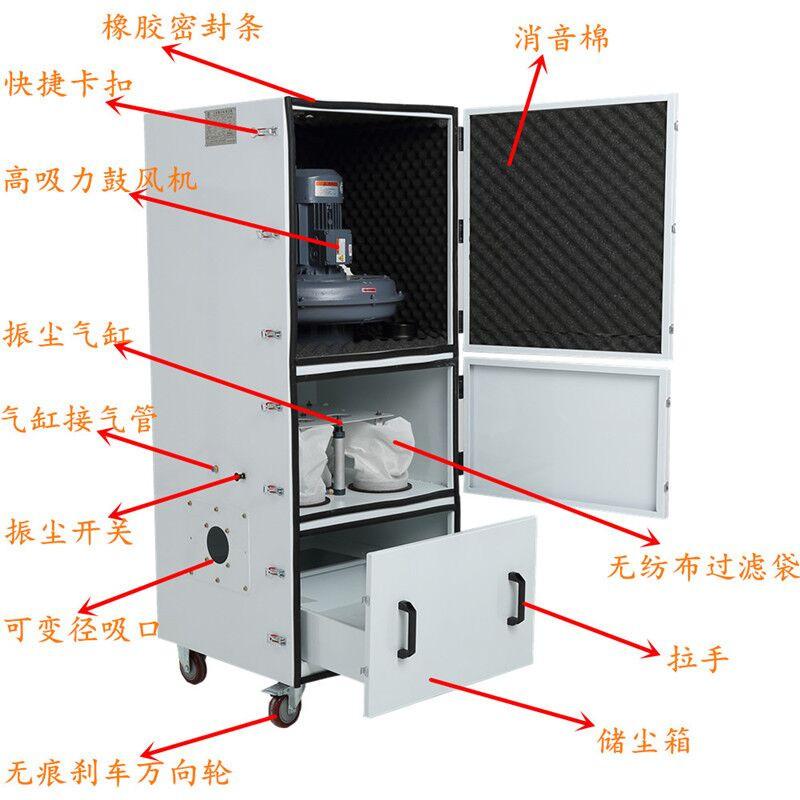 平面磨床集尘机 15kw集尘机 集尘机生产厂家示例图4