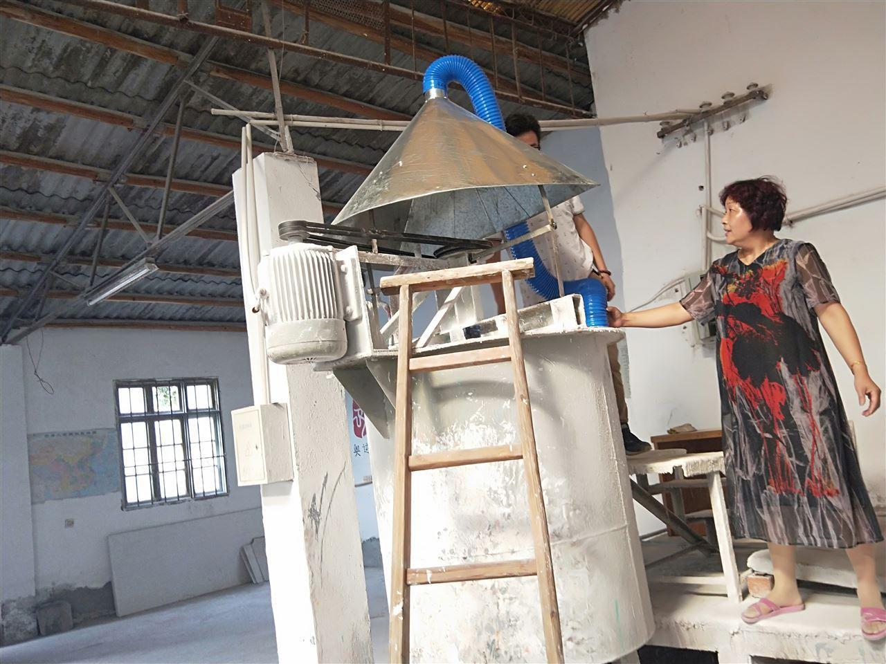 订购磨床吸尘设备 粉尘颗粒集尘机脉冲反吹集尘机低噪音集尘机示例图13