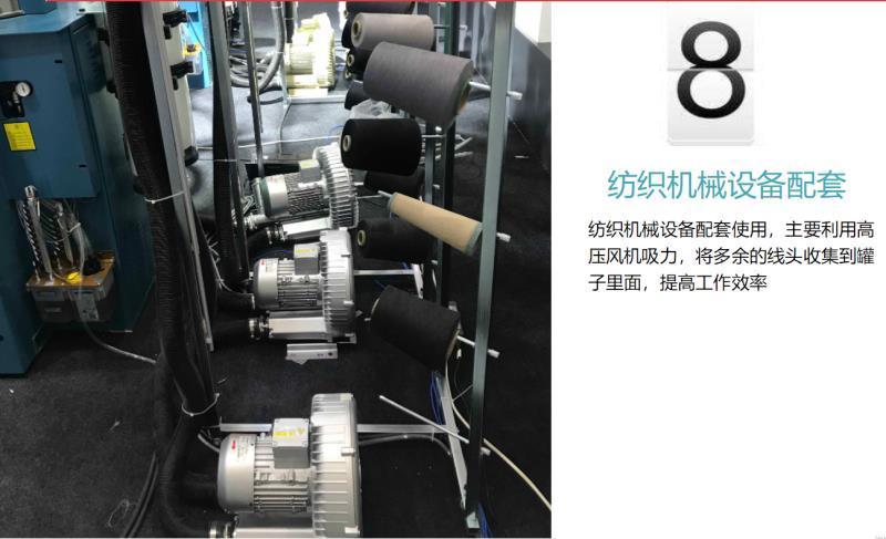 厂家3KW高压风机漩涡气泵 注塑机高压漩涡鼓风机示例图19