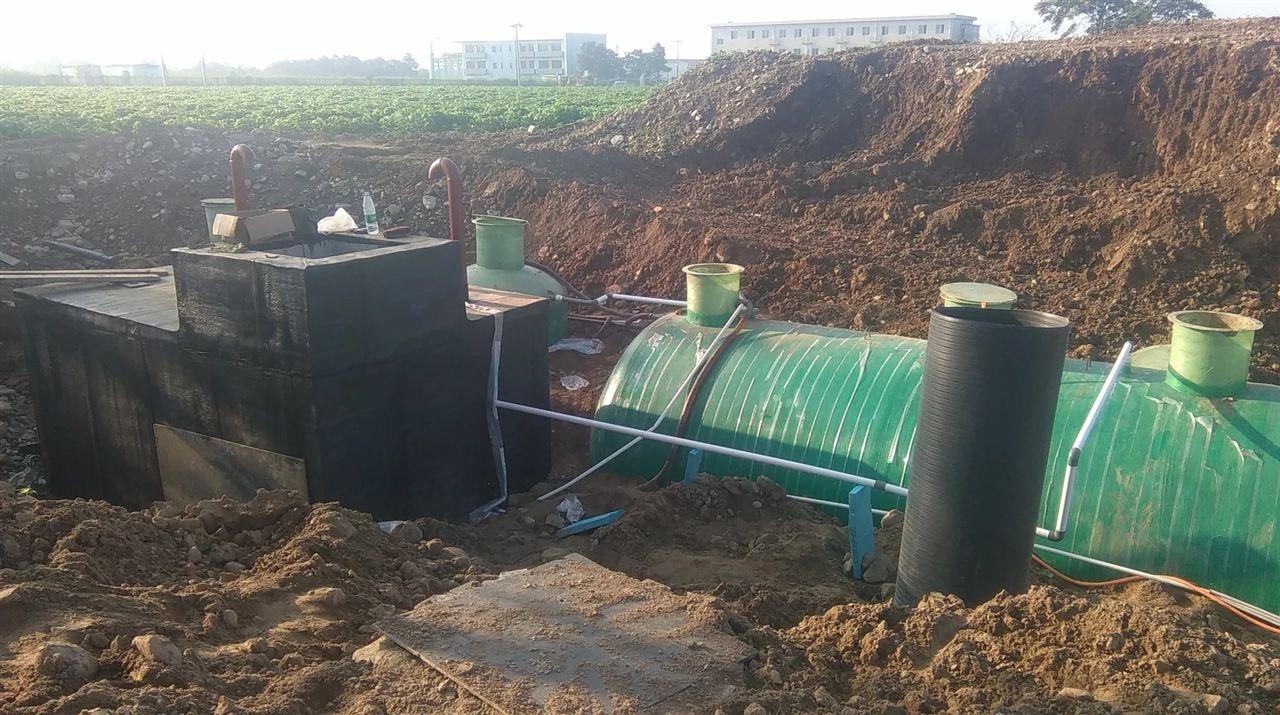 山南职工宿舍污水处理设备工艺