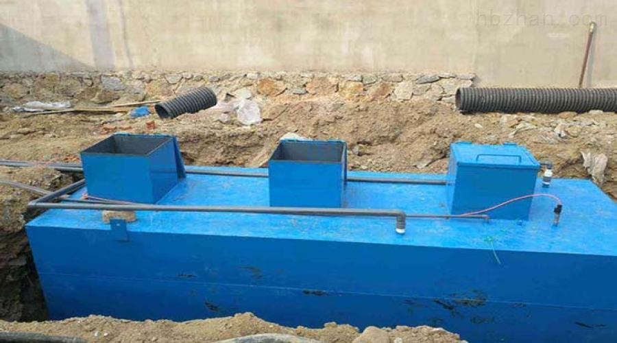 服务区污水处理设备选型