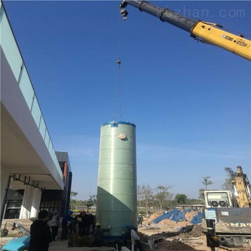 地埋式污水提升泵站贵州赤水市进口水泵