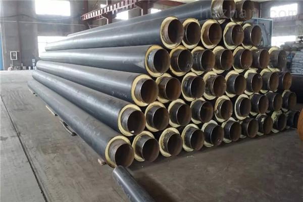 克拉玛依钢套钢岩棉蒸汽保温管现货销售