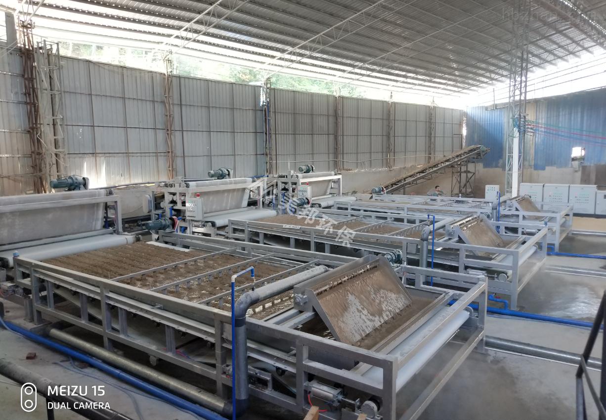 佛山水洗沙包土泥浆脱水机工厂