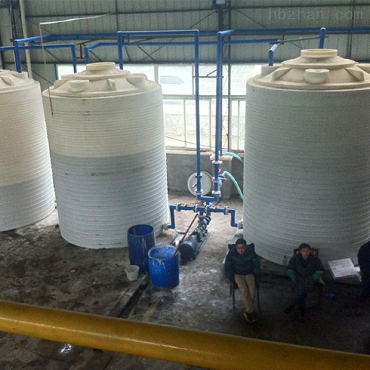 30吨塑料储水罐 盐酸储罐