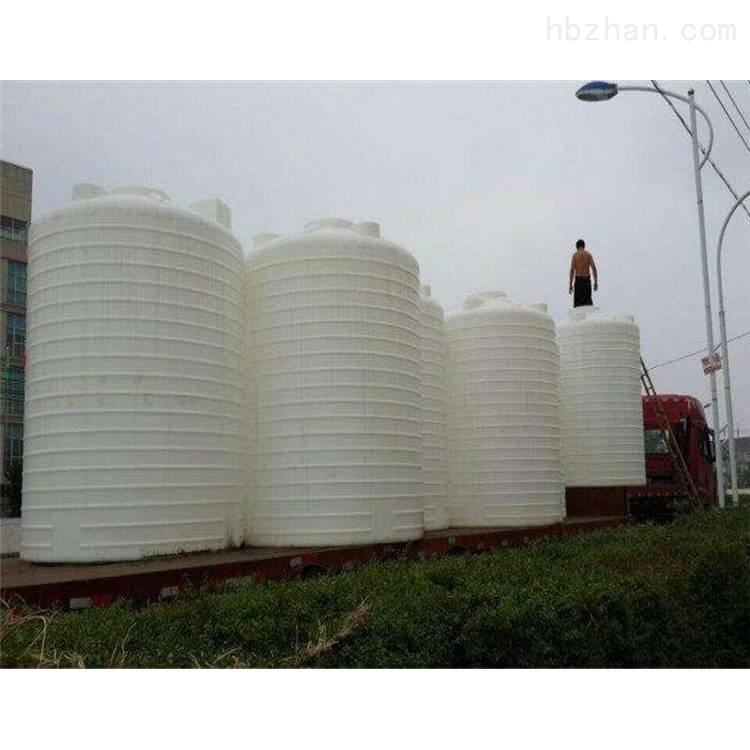 30吨塑料水箱 盐酸储罐