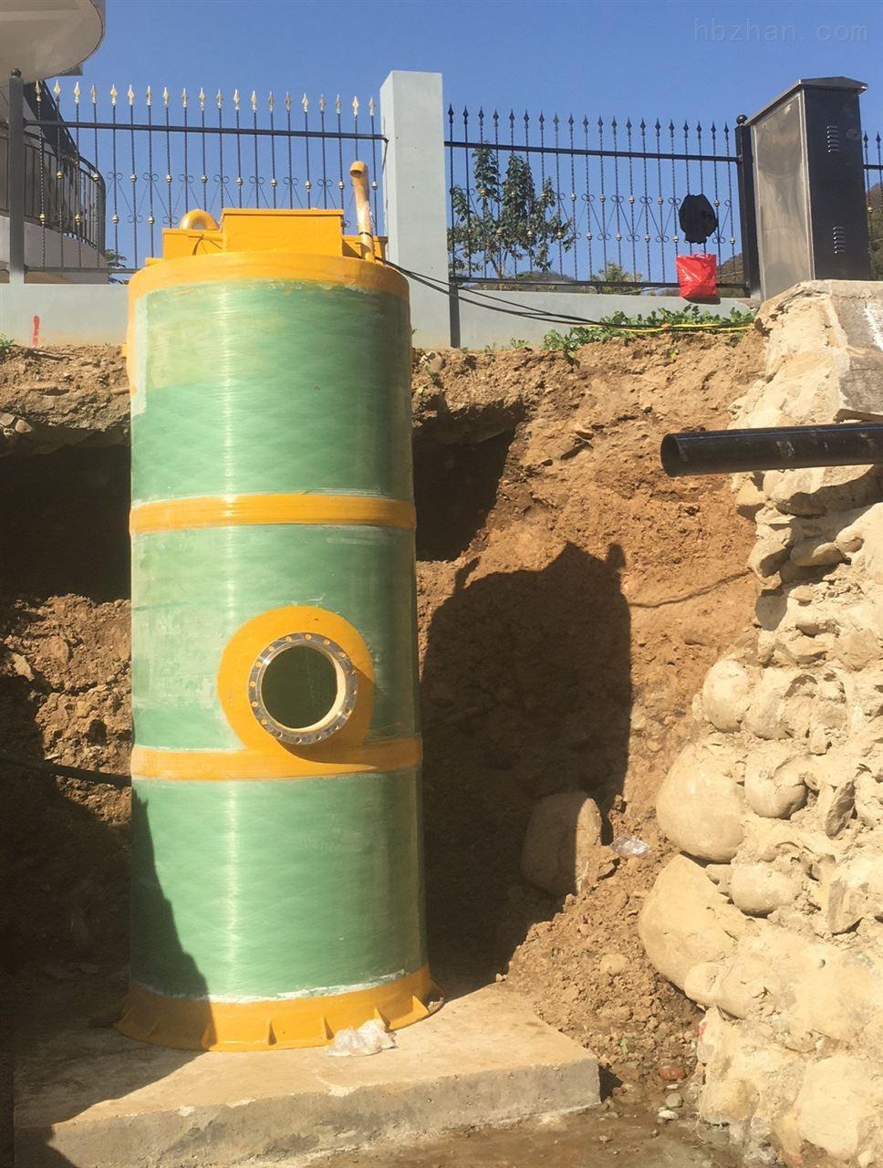 廊坊污水一体化预制泵站源头厂家