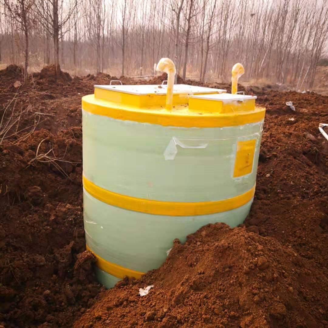 平凉玻璃钢一体化预制泵站用于低洼处雨污水排涝
