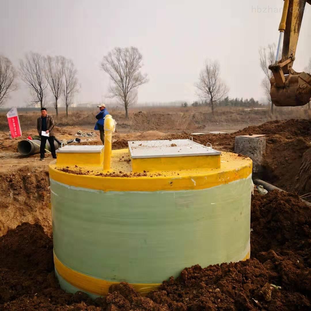 常德一体化预制泵站安装步骤