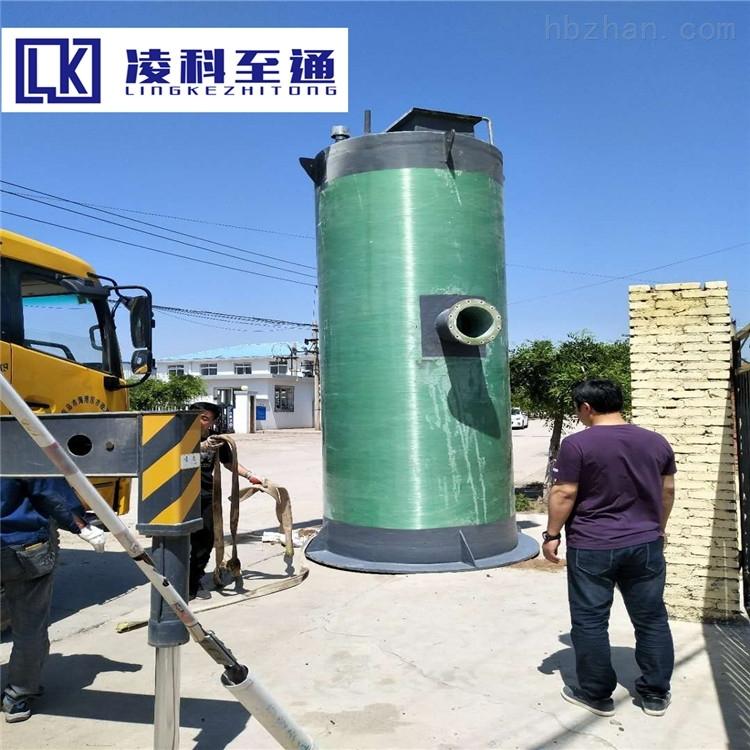 芜湖景观池一体化预制泵站型号有哪些