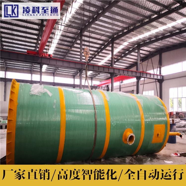 临沧乡镇一体化提升泵站安装步骤