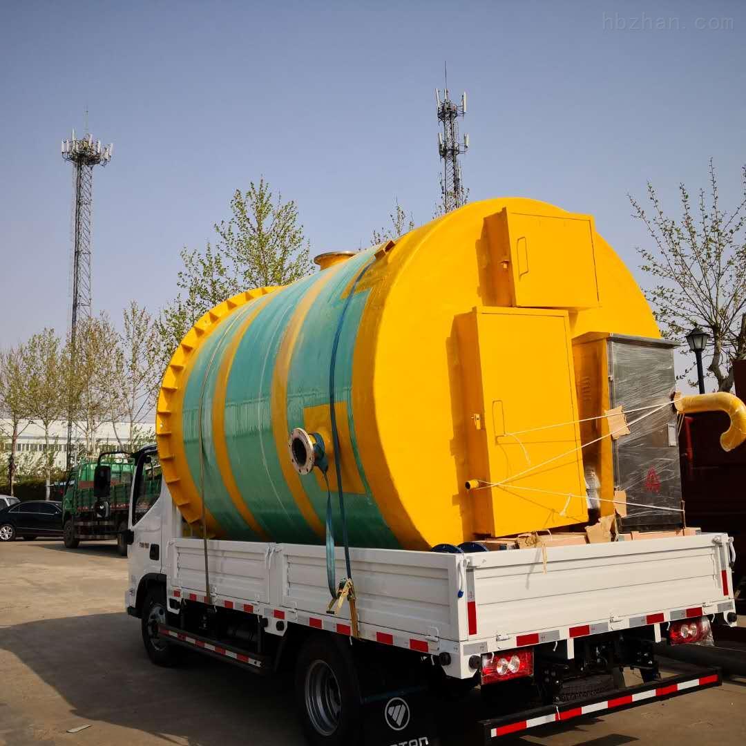 巴彦淖尔城市低洼预制泵站厂家