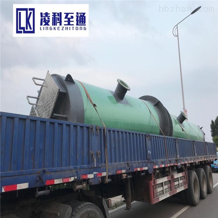 通化一体化污水提升泵站安装步骤